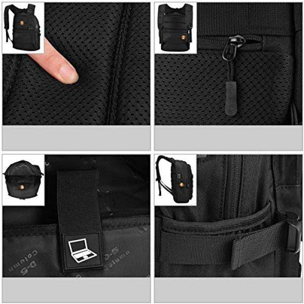 Huntvp Tactical Backpack 6 Huntvp PUBG Backpack Tactical Backpack Laptop Military College Bag Level 3
