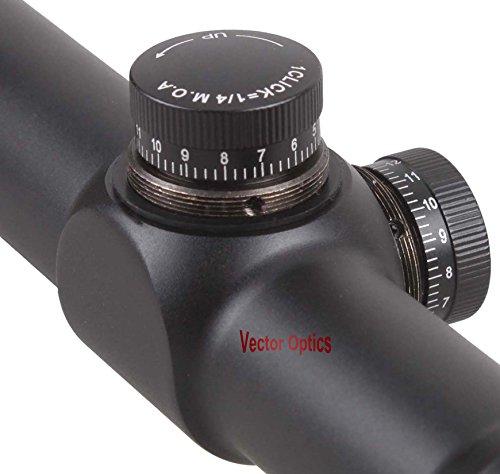 TAC Vector Optics Rifle Scope 4 TAC Vector Optics Nova 3.5-10x42 AO Hunting Shooting Riflescope Soft Reticle Telescopic Sight Free 25.4mm Mount Matte Black