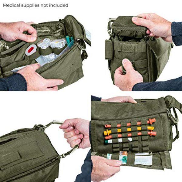 Tasmanian Tiger Tactical Backpack 5 Tasmanian Tiger Small Medic Pack Mk II, Tactical Small MOLLE Medical Bag, First Aid Storage, YKK Zippers