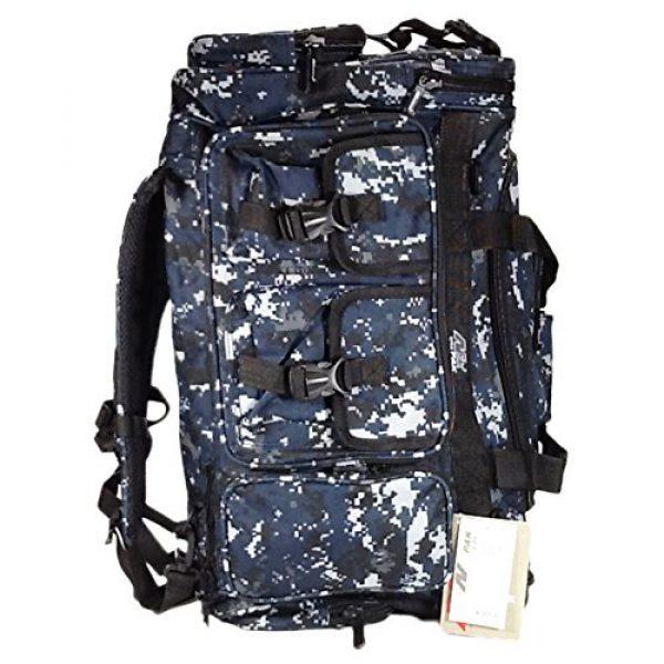 "Nexpak Tactical Backpack 7 Nexpak 26"" 3800cu.in Tactical Duffel Range Backpack TFBP126 DMBK (Navy Blue) Digital Camouflage"