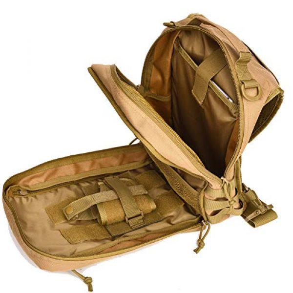 BOW-TAC Tactical Backpack 7 Tactical Sling Bag Pack Small Military Sling Backpack Assault Range Bag