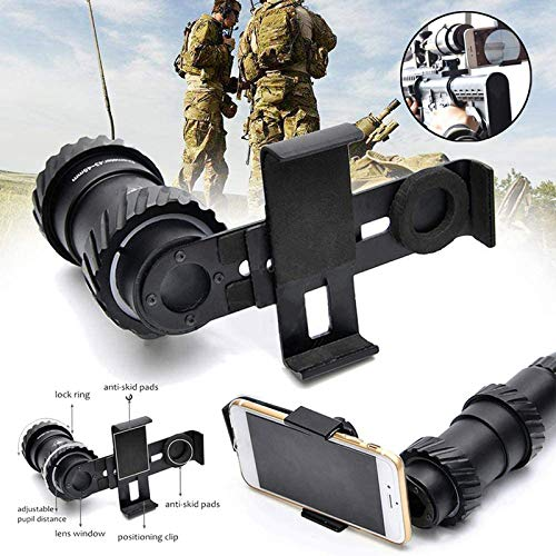 TTHU Rifle Scope 5 TTHU Rifle Scope Holographic Sight Mount Adapter Camera Smartphone Mount Holder Universal Phones for Hunting Scopes