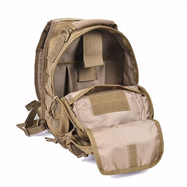 REEBOW GEAR Tactical Backpack 6 Tactical Sling Bag Military Sling Backpack Pack Small Range Bags