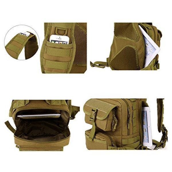 Huntvp Tactical Backpack 7 Huntvp Tactical Military Sling Pack Chest Daypack Molle Backpack Shoulder Bag