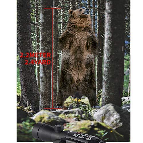 DJym Rifle Scope 3 DJym GPS HD High-Powered Night Vision Monocular, Zoom Digital Video Camera for Outdoor Hunting Rangefinder