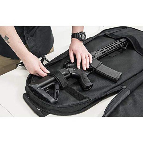 "UTG Tactical Backpack 4 UTG 34"" Alpha Battle Carrier Rapid Deployment Pack, Black (PVC-PSP34B)"