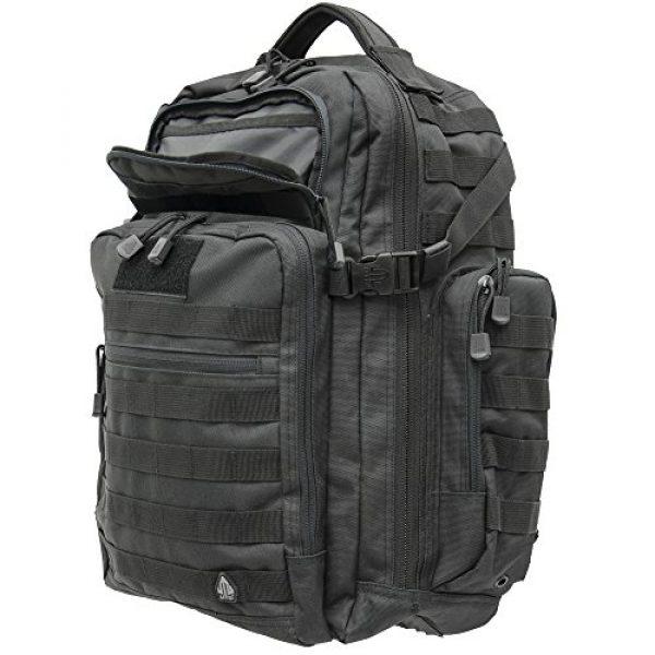UTG Tactical Backpack 4 UTG 2-Day Situational Preparedness Pack, Black