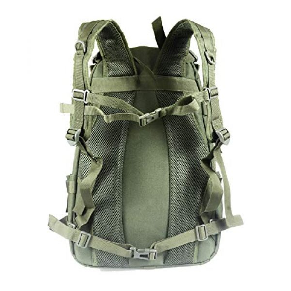 LHI Tactical Backpack 4 LHI Military Tactical Backpack for Men and Women 45L Army 3 Days Assault Pack Bag Large Rucksack with Molle System