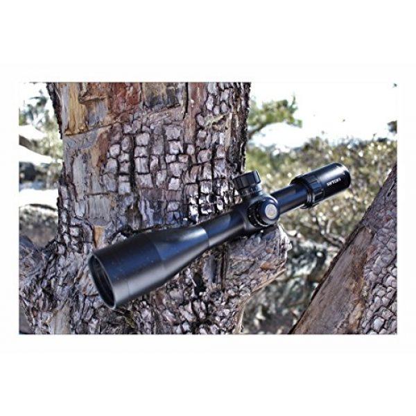 Riton Rifle Scope 5 Riton RT-S MRAD 7 5-25x56IR Riflescope, Black