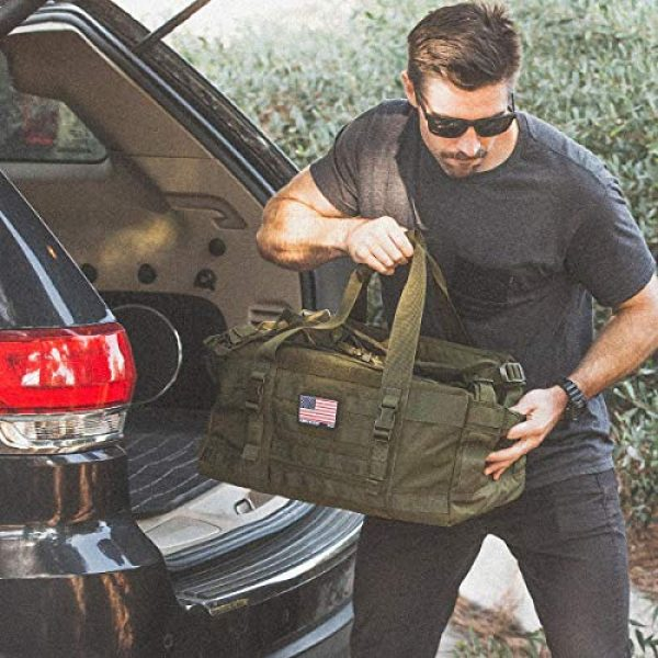 5.11 Tactical Backpack 6 5.11 Rush LBD Molle Tactical Duffel Bag Backpack, Style 56293/56294/56295