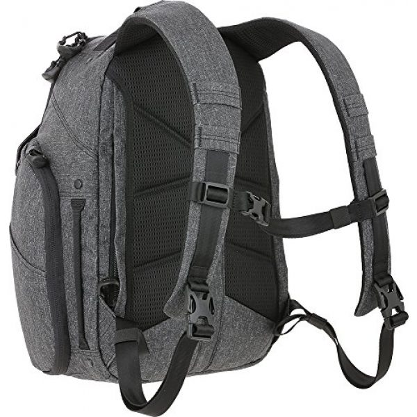 Maxpedition Tactical Backpack 2 Entity 21 CCW-Enabled EDC Backpack 21L (Charcoal)
