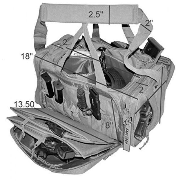 Explorer Tactical Backpack 4 Explorer Tactical Range Ready Bag 18-Inch Woodland Digital