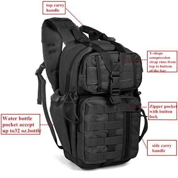 ABENAKI Tactical Backpack 3 ABENAKI Tactical Sling Bag Pack Military Rover Shoulder Backpack Bowmen Bag