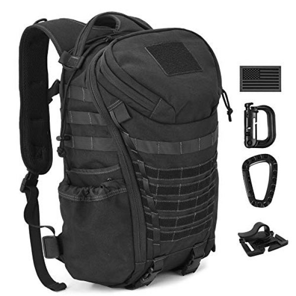 DIGBUG Tactical Backpack 2 DIGBUG Military Tactical Backpack Army 3 Day Assault Pack Bag Rucksack w/Rain Cover Outdoor Hiking Camping Backpack