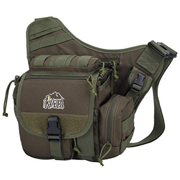 Aveler Tactical Backpack 1 Aveler Nylon Multifunction Sling Bag Tactical MOLLE Military Crossbody Backpack