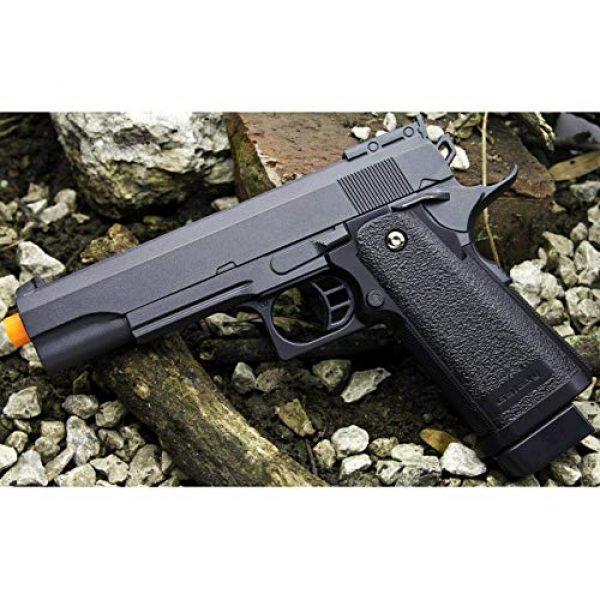 Billybee Airsoft Pistol 4 Billybee Full Size Metal Airsoft Spring Pistol Hand Gun w/Hard Shell Holster 6mm BB BBS