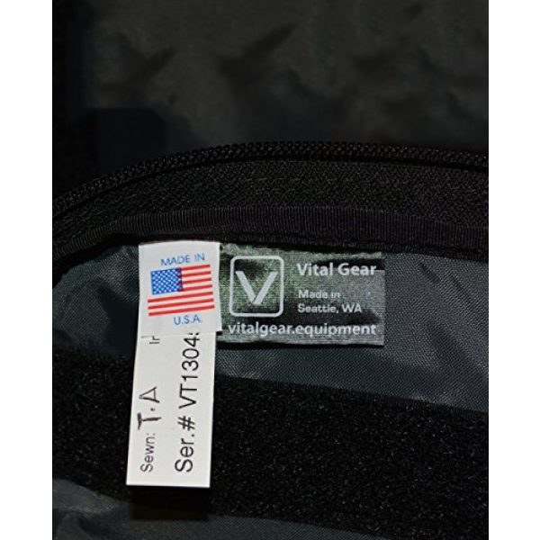 VITAL GEAR Tactical Backpack 4 VITAL GEAR Air Rover Modular Adventure Travel Backpack, Black, Medium/40mm