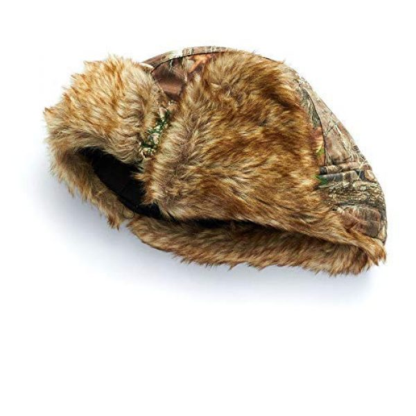 """HOT SHOT Tactical Hat 5 HOT SHOT Men's Camo Sabre Trapper Hat """" Realtree Edge Outdoor Hunting Camouflage Gear"""
