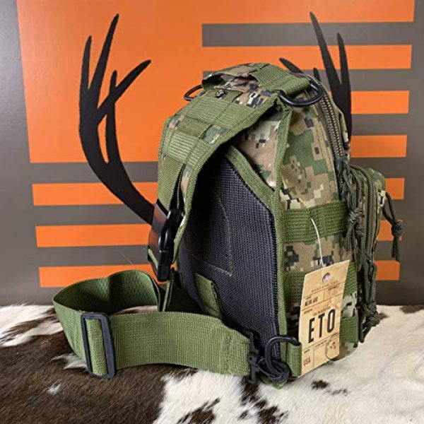 EAST TN. OUTFITTERS ACCURACY MATTERS Tactical Backpack 4 East TN. Outfitters Tactical Sling Bag with Holster Conceal Carry Shoulder Mens Bible Diaper Pack EDC Hunting Fishing Hiking