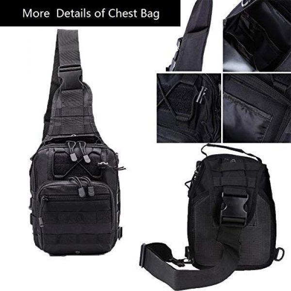 esbuy Tactical Backpack 3 Tactical Backpack Outdoor Shoulder Bag Satchel Sling Chest Packs Daypacks