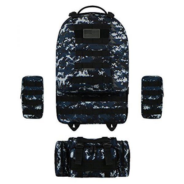 East West U.S.A Tactical Backpack 5 East West U.S.A RTC505 Tactical Molle Military Rucksacks Assault Combat Trekking Bag