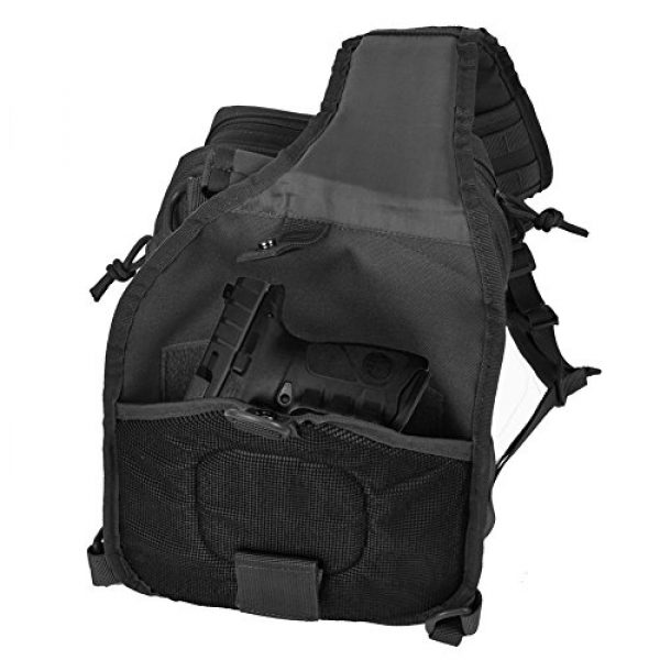 Tactic Ops Tactical Backpack 5 Tactical Sling Bag Backpack Pack Military Waterproof Assault Rover Shoulder Sling Molle Range Bag Everyday Carry EDC Diaper Bag Small Day Pack by Tactic Ops