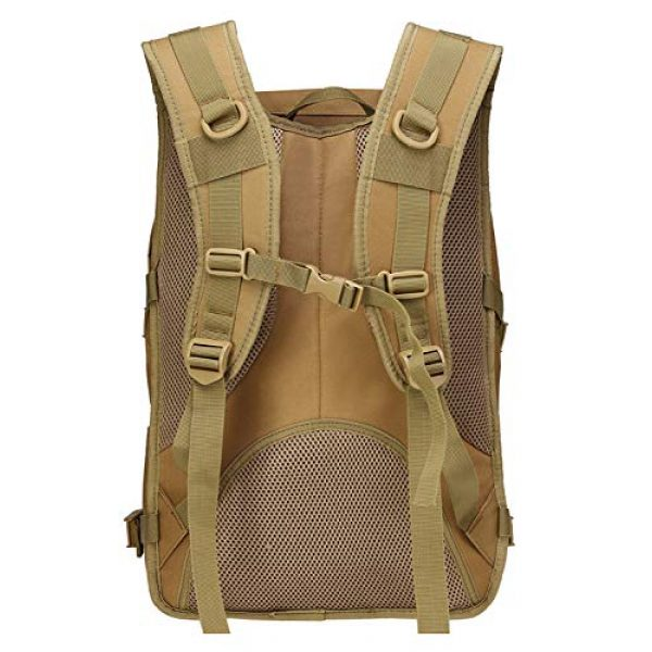 T1FE 1SFE Tactical Backpack 4 T1FE 1SFE Military Tactical Backpack, Tactical Bag, Assault Pack- Molle Bug Out Bag Large