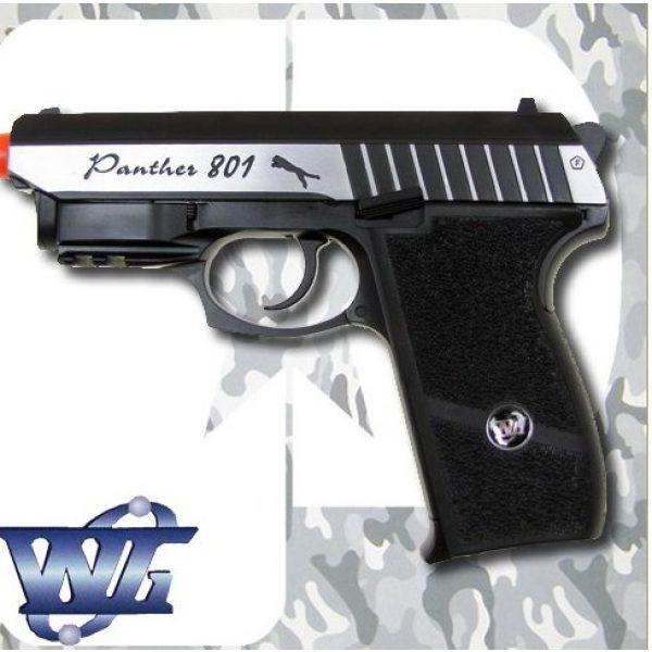 WinGun Airsoft Pistol 2 cbb-4801 WinGun full metal semi auto co2 blowback pistol with free safty shooting glasses and free target trip tent(Airsoft Gun)