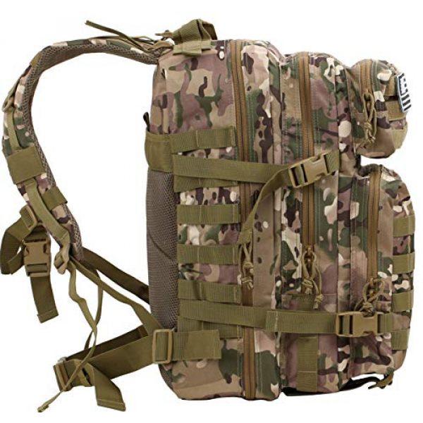 Luckin Packin Tactical Backpack 4 Luckin Packin Tactical Backpack,Military Backpack,Molle Bag Rucksack Pack,45 Liter Large