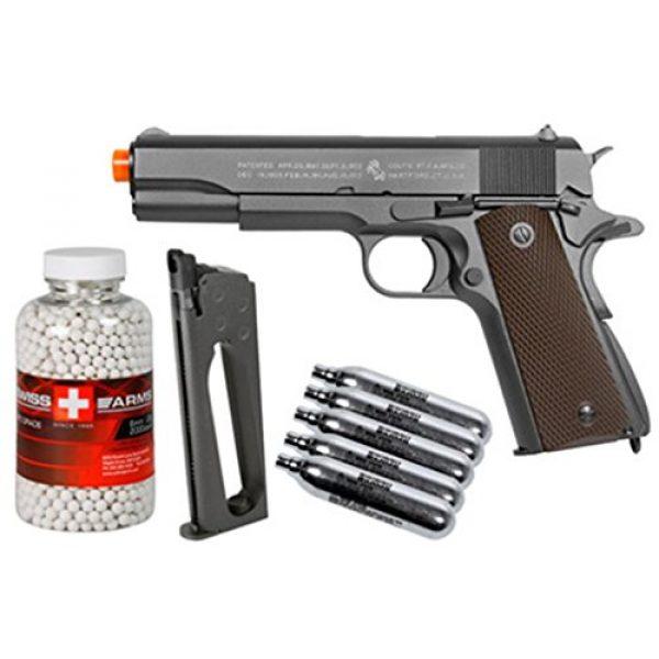 Colt Airsoft Pistol 1 colt 1911 co2 Metal blowback Airsoft Pistol, kit Airsoft Gun(Airsoft Gun)
