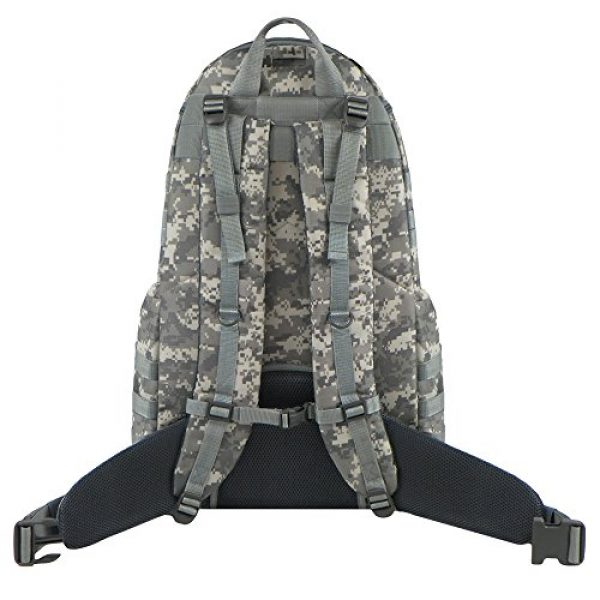 East West U.S.A Tactical Backpack 3 East West U.S.A RTC516 Tactical Camouflage Trizip Molle Hunting Camping Hiking Assault Backpack
