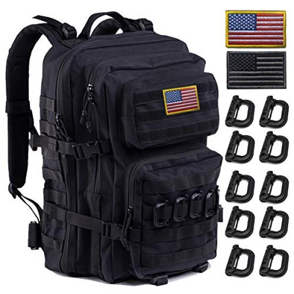 R.SASR Tactical Backpack 1 Upgrade Tactical Military Molle Backpack Army Waterproof Backpack.