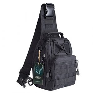 G4Free Tactical Backpack 1 G4Free Outdoor Tactical Bag Backpack, Military Sport Bag Pack Sling Shoulder Backpack Tactical Satchel for Every Day Carry