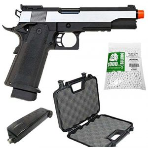 SRC Airsoft Pistol 1 SRC Hi-Capa 5.1 Dual Tone Co2 Airsoft Pistol Matte Finish [Airsoft Blowback]