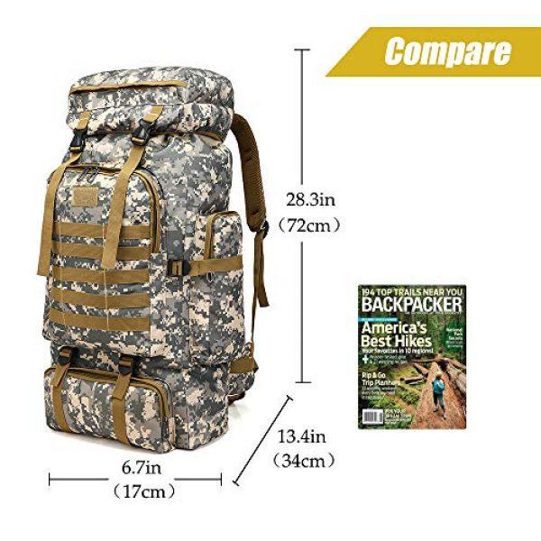 ÖSSZEFUT Tactical Backpack 2 Military Tactical Backpack 70L/80L Large Camping Hiking Backpack for men Rucksack Waterproof Traveling Daypack