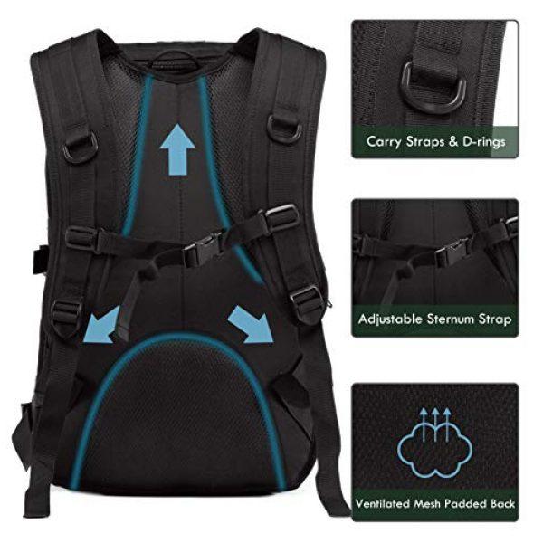 Supersun Tactical Backpack 4 Supersun Tactical Military Backpack Molle - 35L Tactical Backpack Laptop Rucksack Survival Bag Bugout Assault Pack