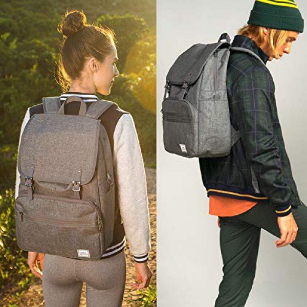 ULAK Tactical Backpack 4 ULAK Mini Backpack Lightweight Rucksack Slim Anti Theft Computer Bag