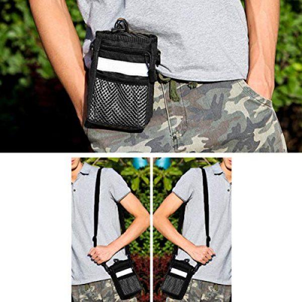 BraveHawk OUTDOORS Tactical Backpack 6 BraveHawk OUTDOORS Shoulder Messenger Bag Bottle Holder Pouch, 800D Military Nylon Oxford EDC Phone Holder Small Crossbody Pack