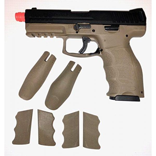 VFC Airsoft Pistol 3 Umarex H&K Licensed VP9 Tac GBB Pistol (BLK/DEB)