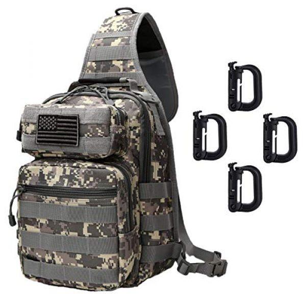 Neasyth Tactical Backpack 2 Neasyth Tactical Sling Bag Backpack Shoulder Chest Bag Outdoor Travel Hiking for Men