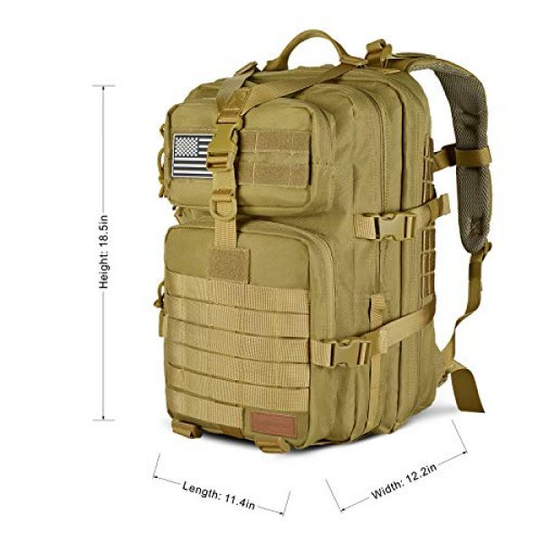 SunsionPro Tactical Backpack 3 SunsionPro Military Backpack for Tactical Hunting Trekking or Outdoor Daily use 43L