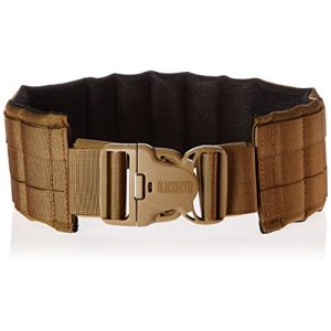 BLACKHAWK Tactical Belt 1 BLACKHAWK Padded Patrol Belt and Pad - Coyote Tan
