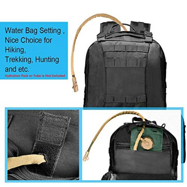 CVLIFE Tactical Backpack 3 CVLIFE Military Tactical Backpack Army Assault Pack Built-up Molle Bag Rucksack