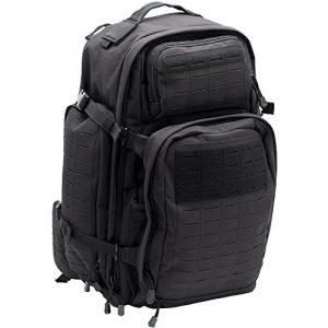 LA Police Gear Tactical Backpack 1 LA Police Gear Atlas 72H MOLLE Tactical Backpack for Hiking, Rucksack, Bug Out, or Hunting