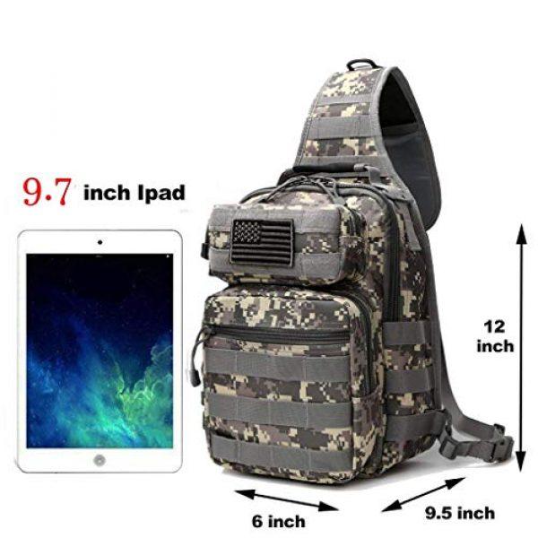 Neasyth Tactical Backpack 7 Neasyth Tactical Sling Bag Backpack Shoulder Chest Bag Outdoor Travel Hiking for Men