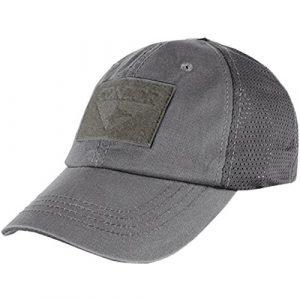 Condor Tactical Hat 1 CONDOR Mesh Tactical Cap (Graphite, One Size Fits All)