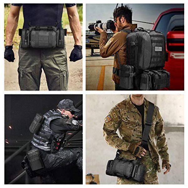 NOOLA Tactical Backpack 7 NOOLA Tactical Military Backpack Army Assault Pack Molle Bag Built-up Rucksack