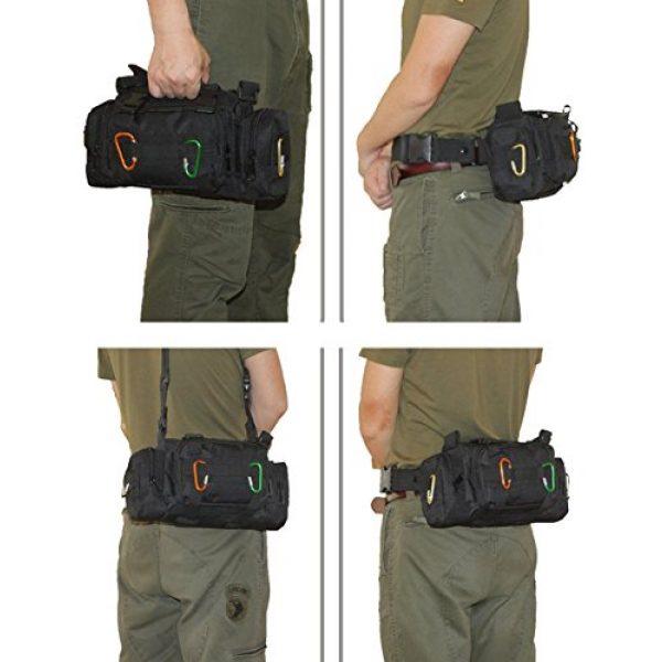DOUN Tactical Backpack 7 DOUN Tactical Waist Bag Military Versatile Tactical Deployment Bag Hand Carry Bag Molle Waist Pack Camera Bags
