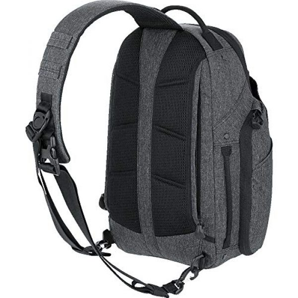 Maxpedition Tactical Backpack 2 Maxpedition Entity 16 CCW-Enabled EDC Sling Pack 16L for Covert Concealed Carry, Charcoal