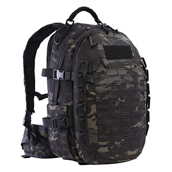 VOTAGOO Tactical Backpack 1 VOTAGOO Tactical Military Backpack Molle Bag Rucksack 30 L Army Assault Pack Outdoor Travel Hiking Camping